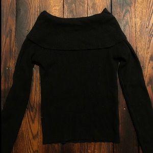 Brandy Melville soft black sweater top